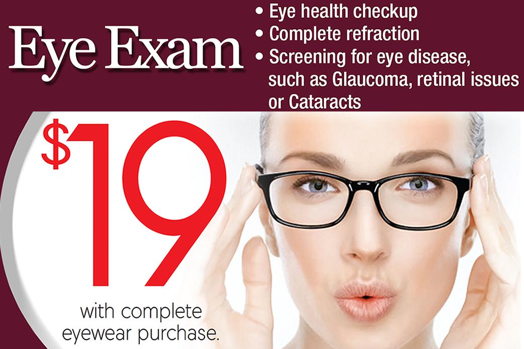 83c3f3b9505 Affordable Eye Exams   Eyeglasses